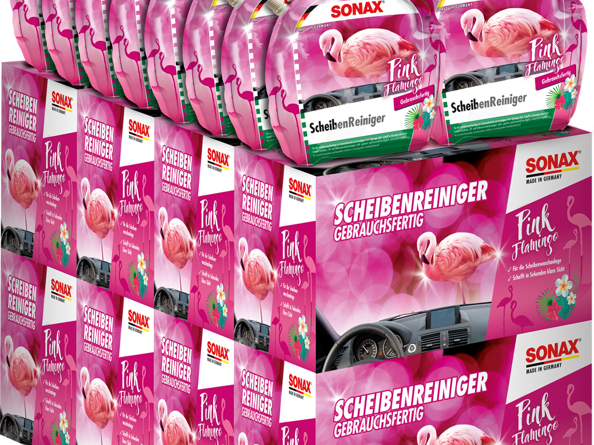 Kartonplatzierung_Pink_Flamingo